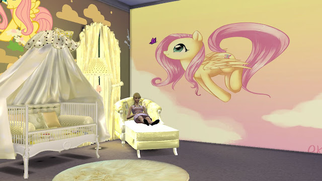 sims 4 my little pony wall sticker,decal and mural download