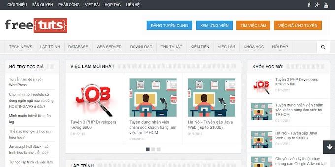 Chia sẻ theme tin tức được share miễn phí của Hòa Trần
