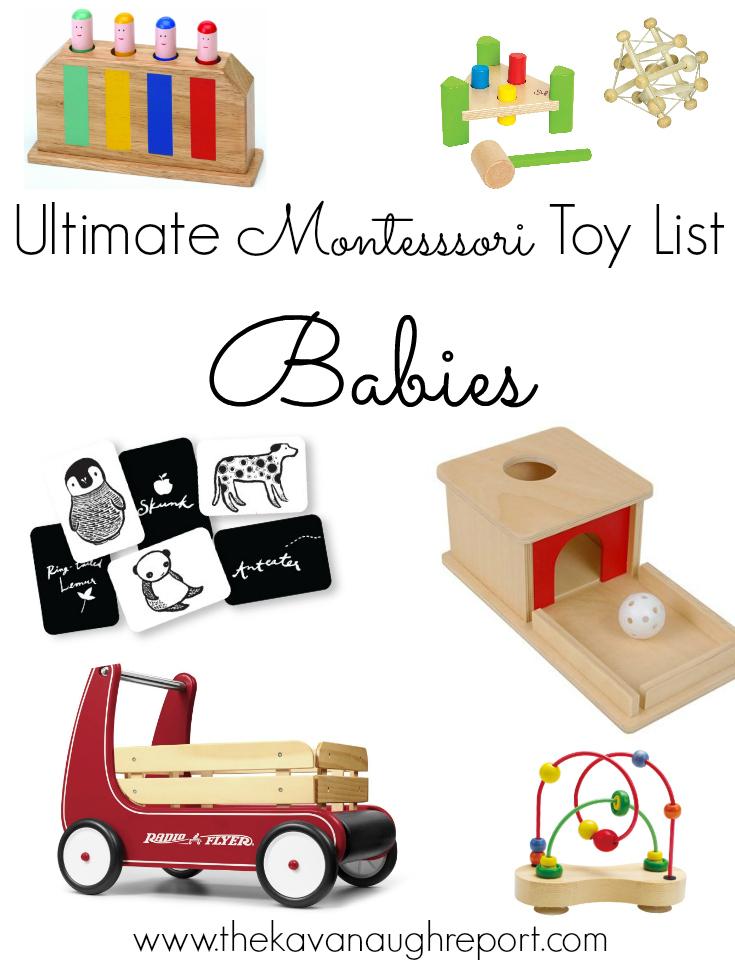 d41f9eaec45c6 The Ultimate Montessori Friendly Toy list! Montessori friendly toy and gift  ideas for babies