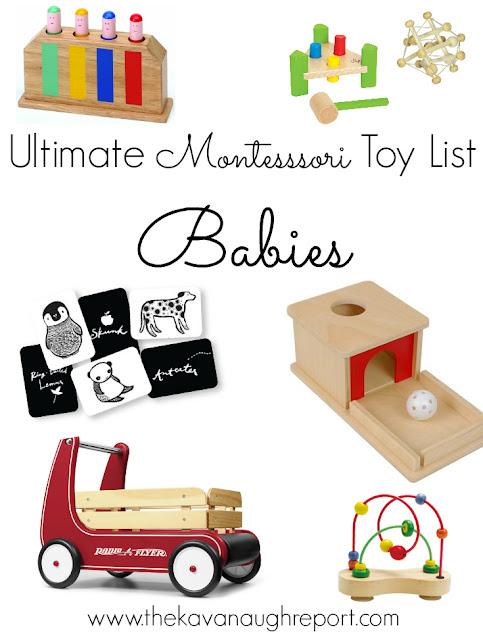 The Ultimate Montessori Toy List Birth To Five