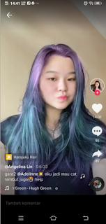 Hair colour filter tiktok - Cara mendapatkan filter Harajaku hair tiktok