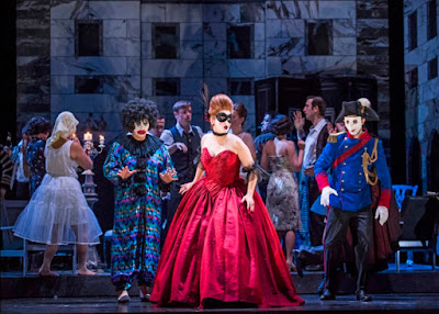 Magdalena Molendowska, Ana Maria Labin, Anthony Gregory - Glyndebourne on Tour - photo Tristram Kenton