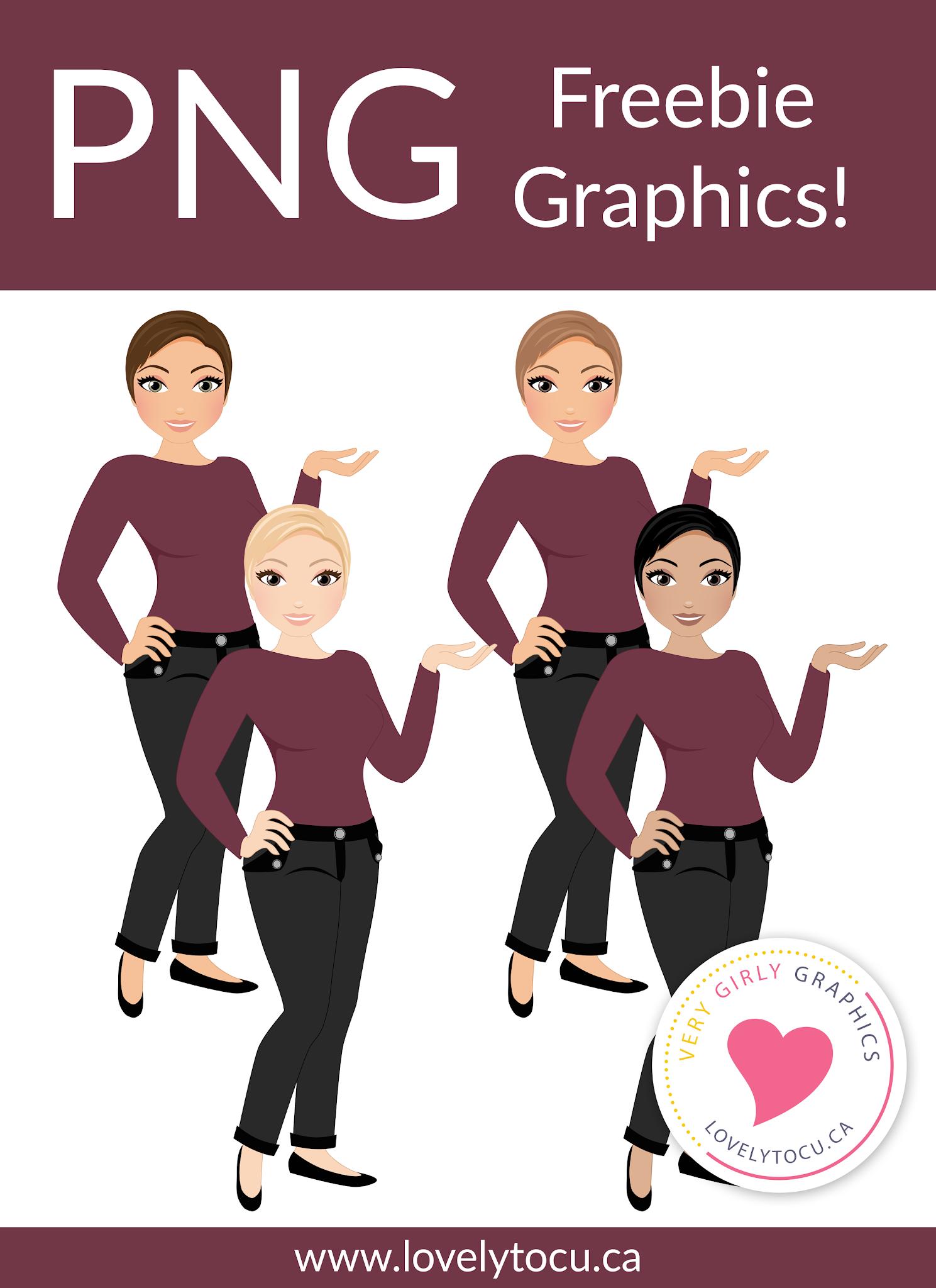 Lovelytocu freebie character graphics