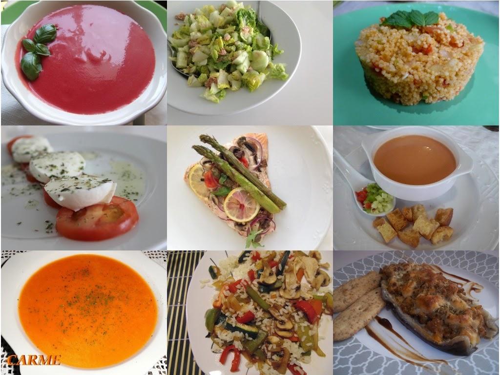 Men Semanal Sano Y Econ Mico Nutrici N Y Salud