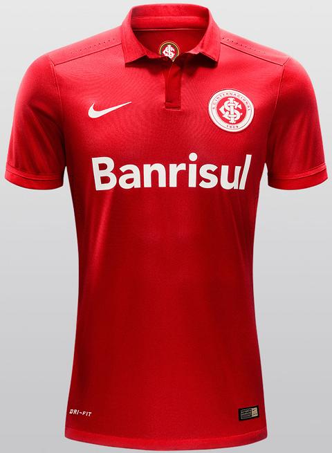 Nike divulga as novas camisas do Internacional - Show de Camisas 820815a9a945f