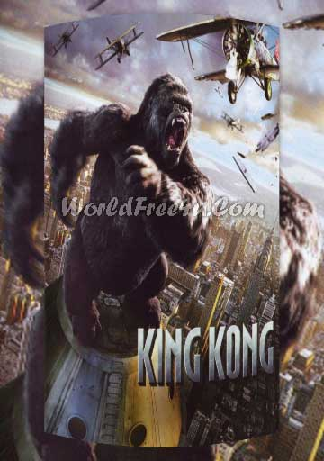 Poster Of King Kong (2005) Full Movie Hindi Dubbed Free Download Watch Online At worldofree.co