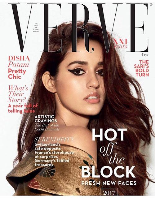 Disha Patani Verve Magazine Photoshoot 2017