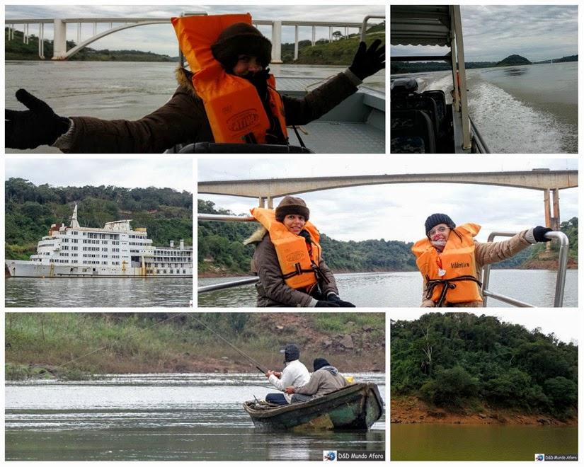 Passeio Encontro das Águas, Foz do Iguaçu