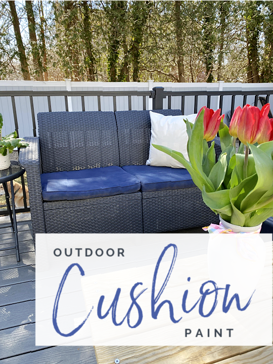 outdoor love seat with overlay