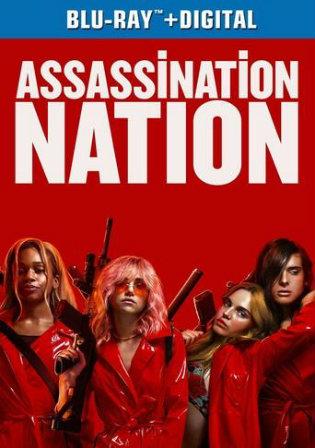 Assassination Nation 2018 BRRip 850Mb Hindi Dual Audio ORG 720p