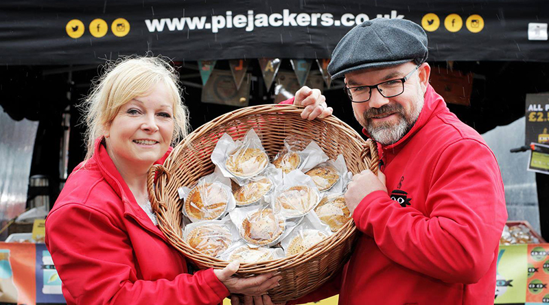 Julie and Neil Fletcher, the couple behind Pie Jackers