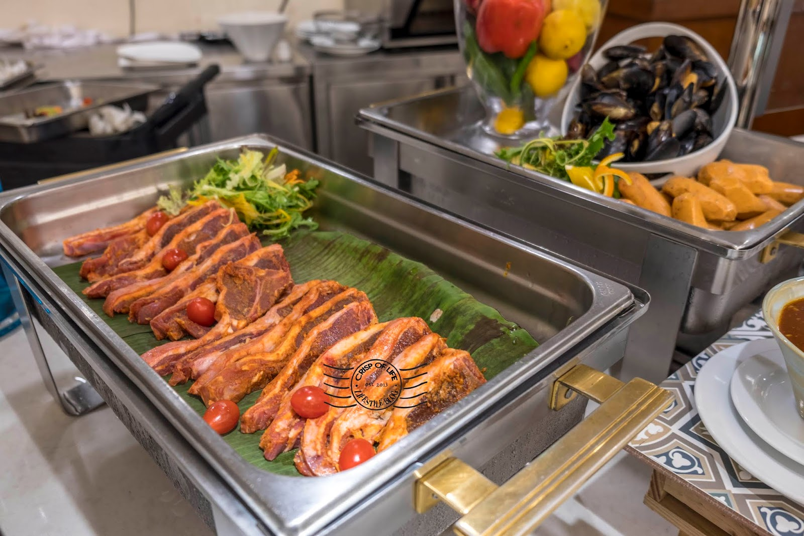 Enjoy a Mix Selection Seafood and BBQ Meat At Evergreen Laurel Hotel Penang Friday & Saturday Buffet