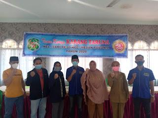 Rifi Naufal Terpilih sebagai Ketua Umum Karang Taruna Sari Rejo 2020-2024