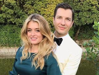 John Jovanovic with his wife Daphne Oz