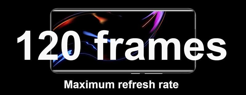120Hz refresh rate