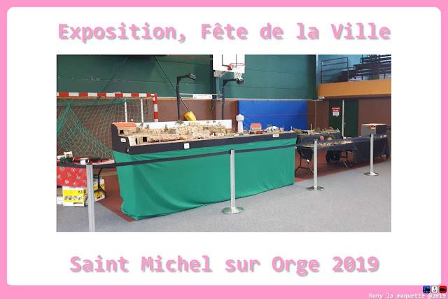 Fête de la ville de Saint Michel sur Orge 2019 avec l'Escadrille Saint Michel.