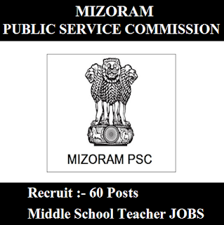 Mizoram Public Service Commission, Mizoram PSC, PSC, Mizoram, School Teacher, Middle School Teacher, Teacher, Graduation, freejobalert, Sarkari Naukri, Latest Jobs, mizoram psc logo