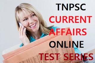 tnpsc current affairs online test-14
