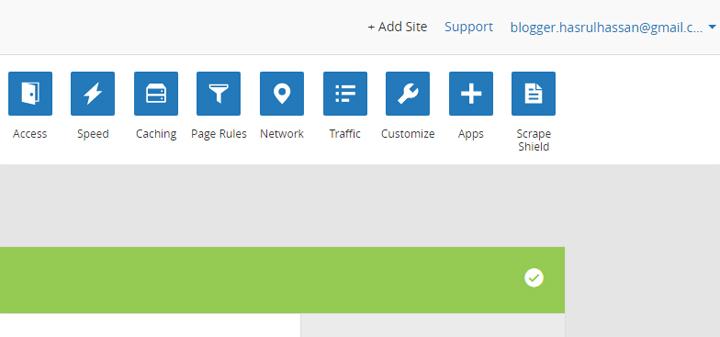 Langkah setup domain blog di Cloudflare