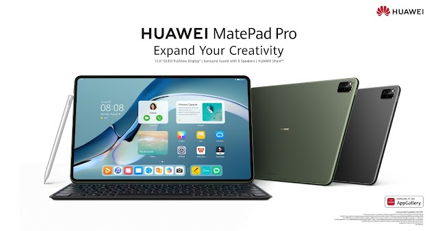 Huawei เปิดตัวสุดยอดแท็บเล็ตพรีเมียม HUAWEI MatePad Pro 12.6-inch จอใหญ่ แบตอึต สเปกแรง ตอบสนองเร็วและลื่นไหลยิ่งกว่า พร้อมอัดแน่นฟีเจอร์ระดับโปรเพื่อการรังสรรค์งานสายครีเอทีฟแบบไร้ขีดจำกัด