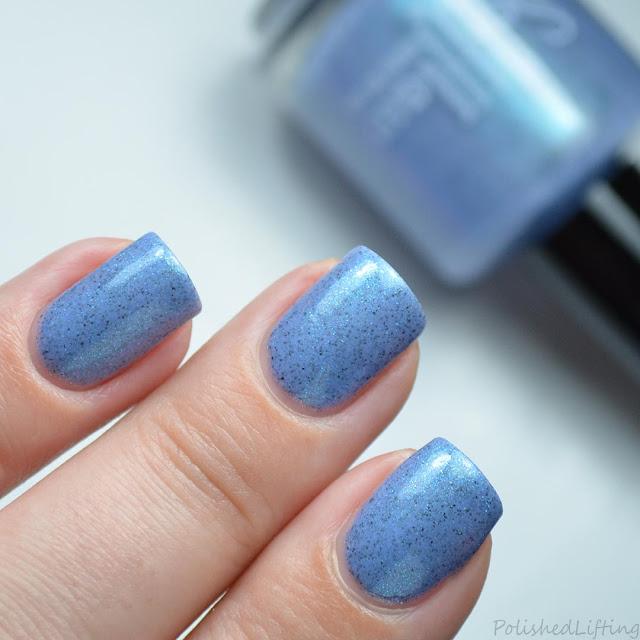 blue crelly nail polish