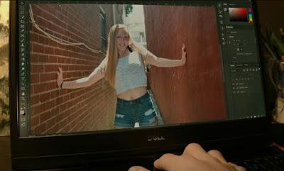 "A scene from ""Transfigure"" with Hannah Clark"
