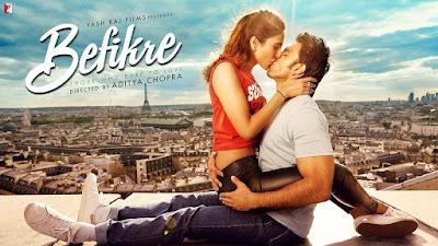 Download Befikre (2016) Hindi Full Movie BluRay || 480p [400MB] | 720p [1GB]