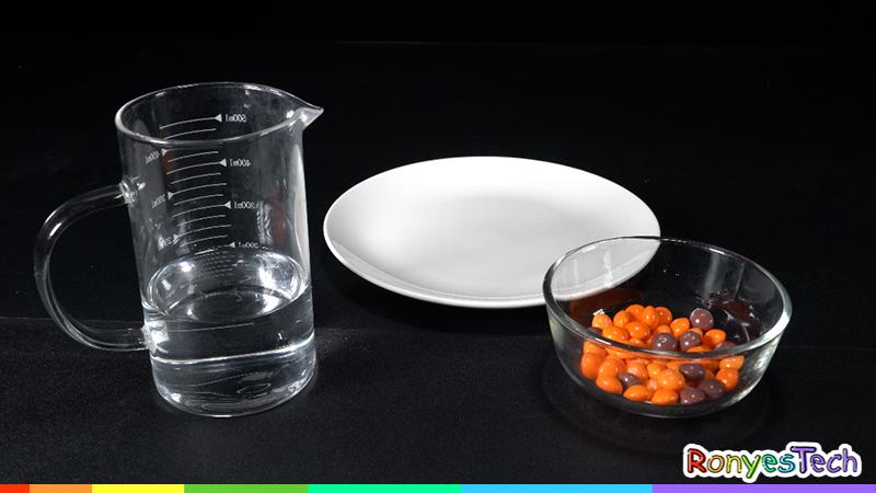 Halloween Pumpkin Skittles Science Experiment Materials List