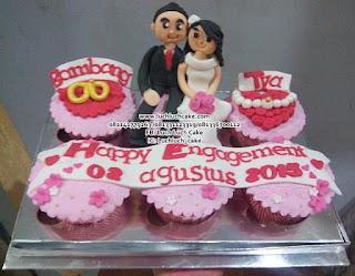 Cupcake Hantaran Pertunangan