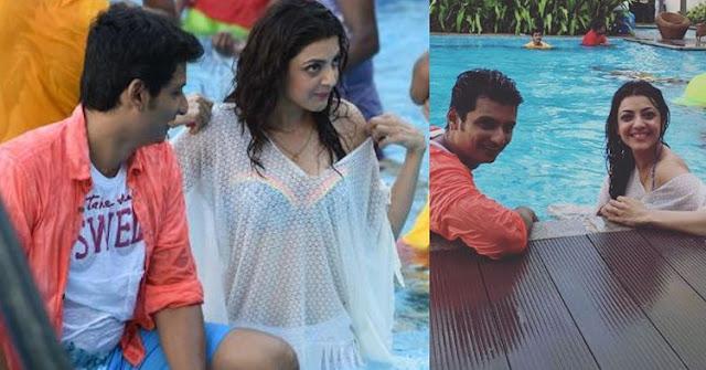 Kajal agarwal in Bikini movie kavalai vendam