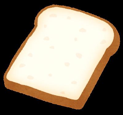 食パンのイラスト(薄め)