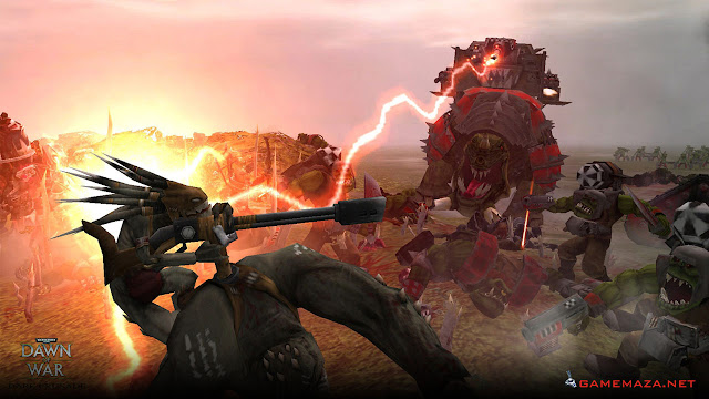 Warhammer 40000 Dawn of War Dark Crusade Gameplay Screenshot 3