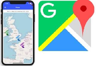 cara penggunaan Google map