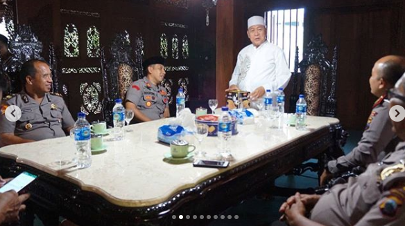 Kapolres Jepara Rangkul Ulama Untuk Jogo Wargo