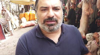O repórter Yan Boechat nas ruas de Cabul - Divulgação