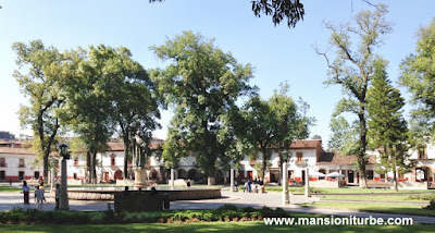 Vasco de Quiroga Square at the Mexican Colonial Town of Patzcuaro