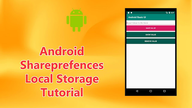 android sharedprefences local storage