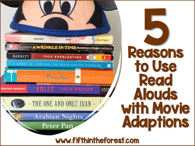 Image for 5 Reasons to Use Read Alouds with Movie Adaptations in Upper Elementary