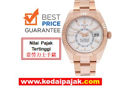 Pajak Jam Rolex Sky-Dweller Dengan RM85,000 – kedaipajak.com