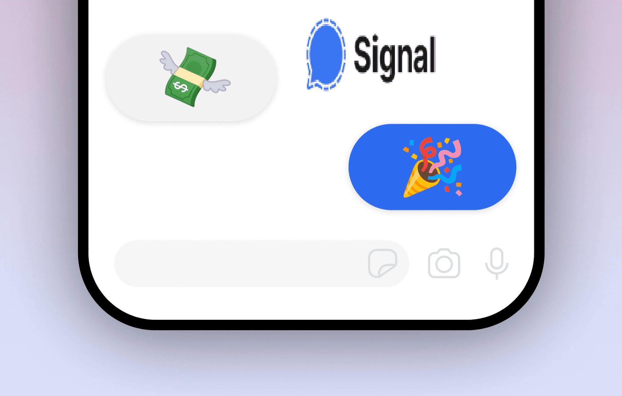تطبيق Signal يختبر ميزة جديدة تتيح لك إرسال العملات المشفرة