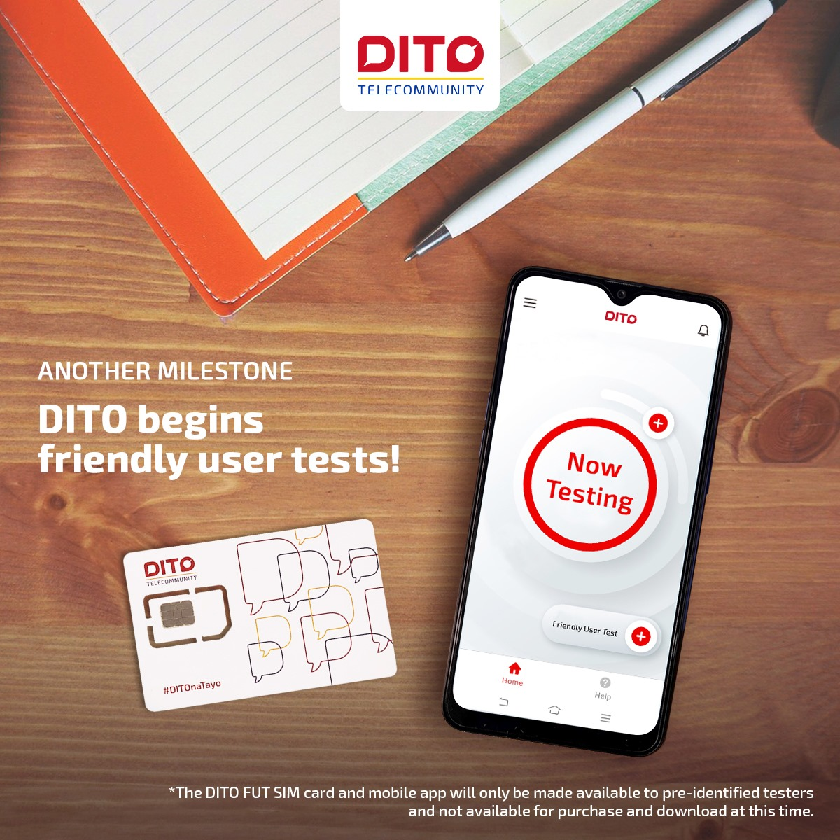 DITO Telecom Sim Card and Mobile App