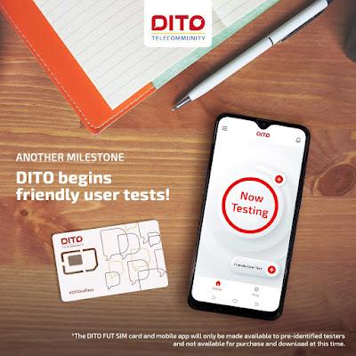 DITO Telecom Sim Card and Mobile App