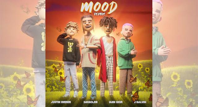 """24KGoldn estrena su versión remix de """"Mood"""" junto a Justin Bieber y J Balvin"""