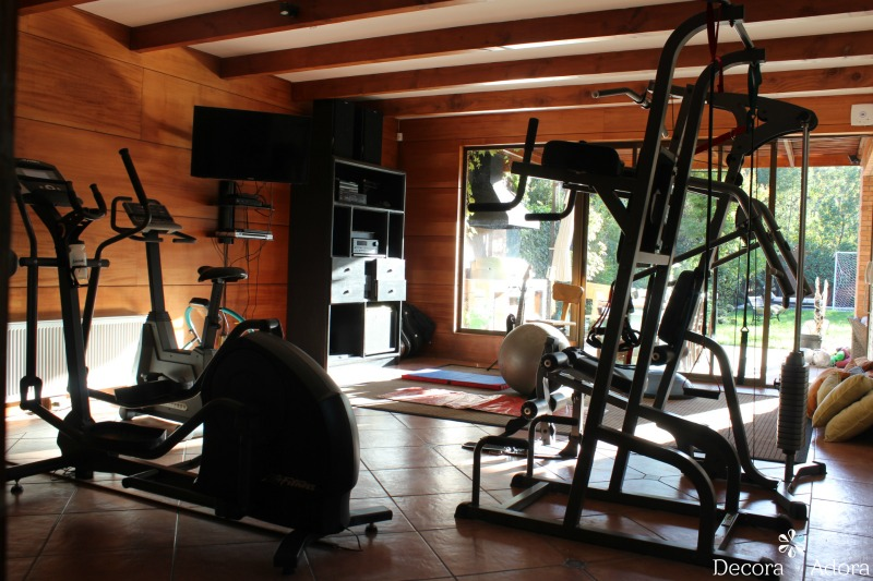 Decora y adora nuestro gimnasio en casa our gym - Casa con gimnasio ...