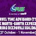 Jadual Waktu Perjalanan TTA PLUS Deepavali 2016