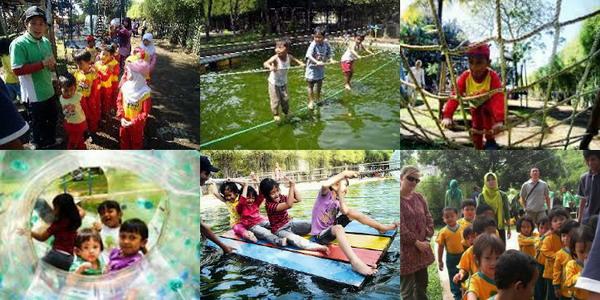 Tempat wisata outbound murah di bandung Edukidzment