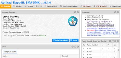 Cara Mudah Update Dapodik SMA dan SMK Versi 8.4.0 Terbaru