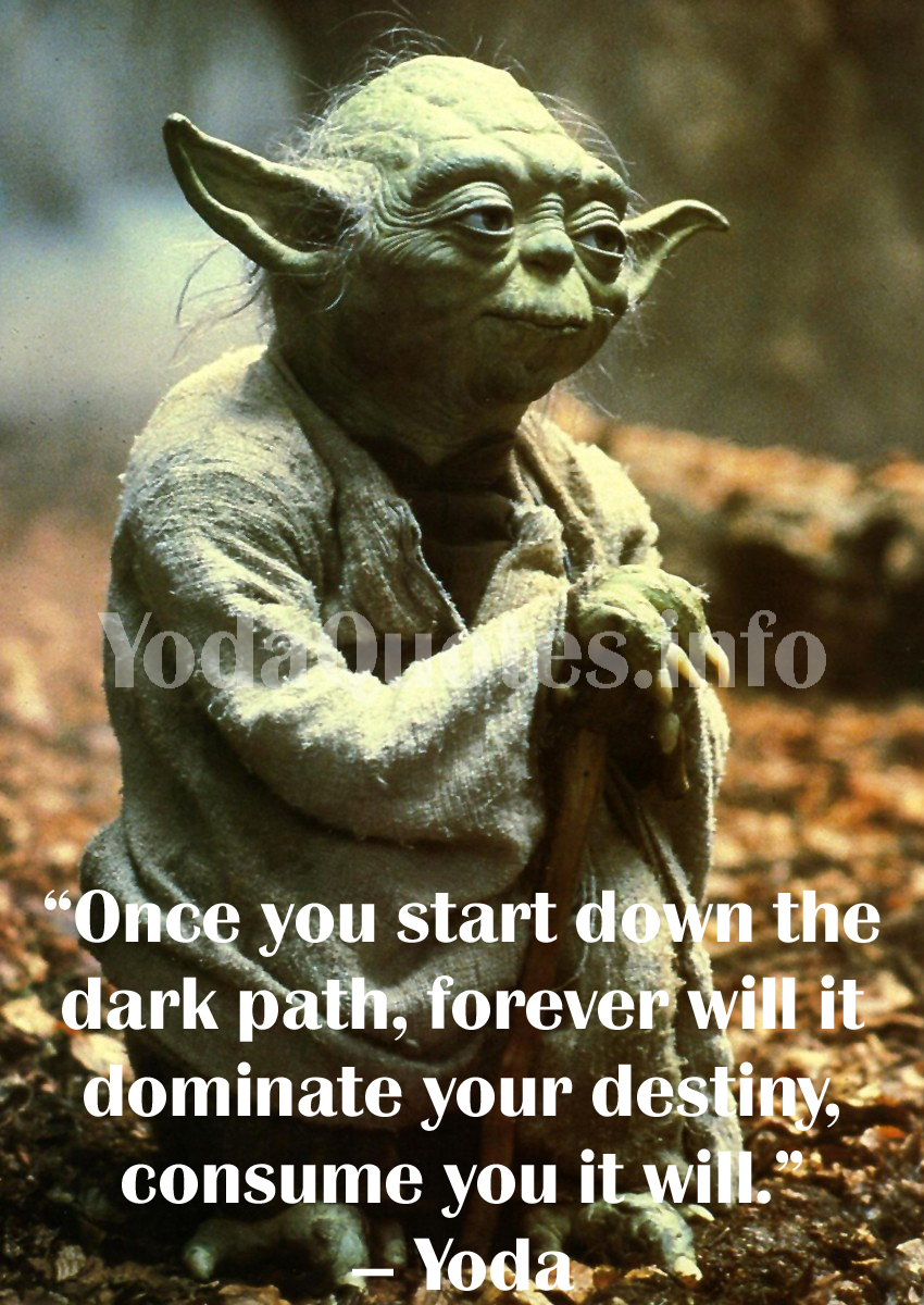 Yoda Quote , Best Yoda Quotes   Star Wars Quotes Yoda ...