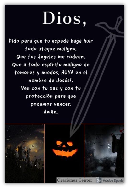 Oraciones contra Halloween - Noche de Brujas