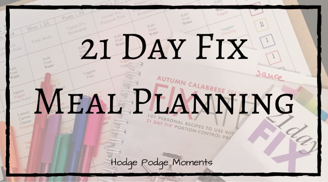 Meal Planning with a Free Printable